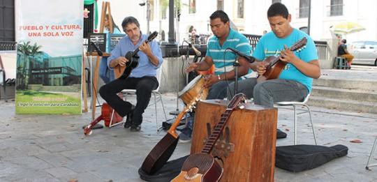 Maestros carabobeños homenajeados con programación cultural en plaza Sucre