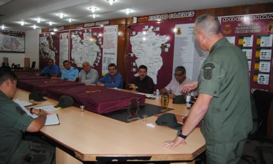 Gobernación y autoridades de UC coordinaron plan de seguridad