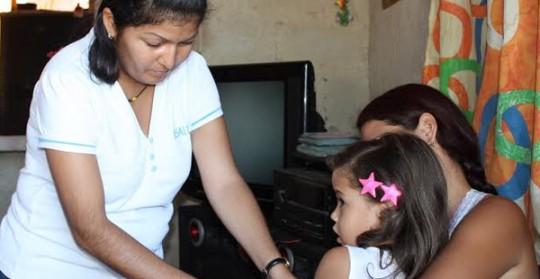 Beneficiados 500 carabobeños en jornada médico asistencial en Miguel Peña