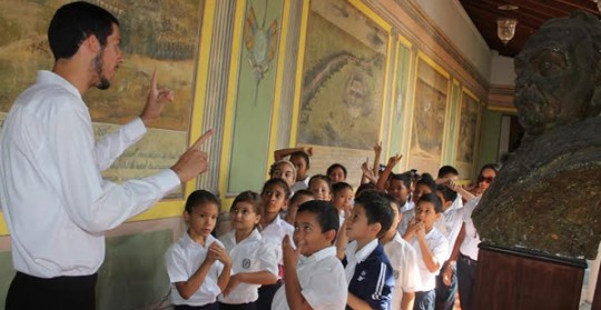 Gobernación de Carabobo reactivó visitas guiadas en Museo Casa Páez