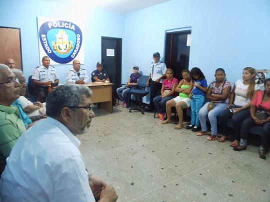 PoliCarabobo promueve mesas de trabajo con comunidades