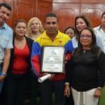 Consejo Legislativo  agasajó a deportistas carabobeños