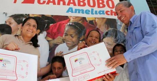 Gestión de Ameliach profundiza inclusión social en Carabobo