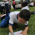 """Niños y niñas carabobeños  dibujaron """"escuela que quieren"""""""