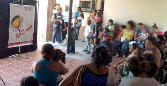 """""""La Zaranda"""" llegó a centros asistenciales de Central Tacarigua y Puerto Cabello"""