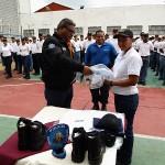 Gestión de Ameliach dotó de uniformes a 298 discentes de PoliCarabobo