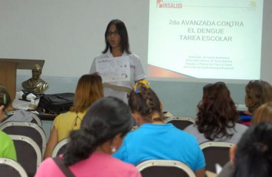 """""""Tarea Escolar contra el Dengue"""" inicia  Insalud en planteles de Carabobo"""