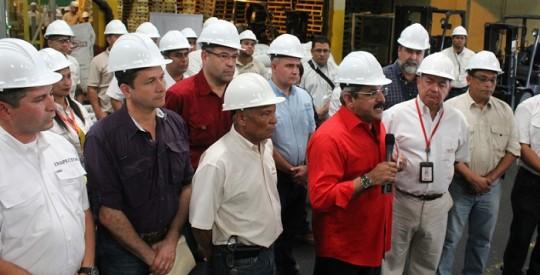 Gobierno Bolivariano y Protinal acuerdan aumentar producción