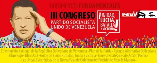 Los Estatutos del PSUV, la guía del Militante Revolucionario