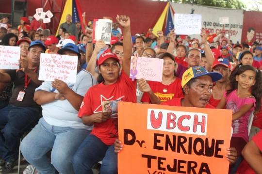Militantes del PSUV en Carabobo  preparados para elegir delegados