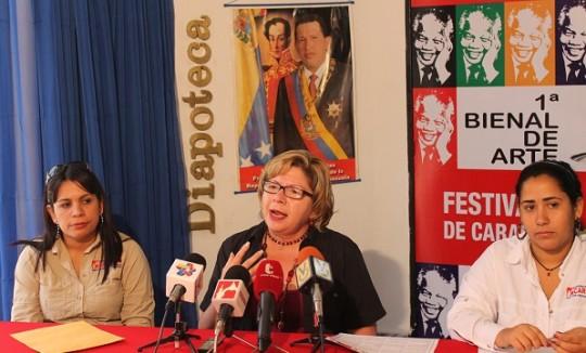 Gobierno Regional inició recepción de obras  para I Bienal de Pintura Festivales de Carabobo