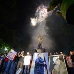 Cielo de Carabobo retumbó  para celebrar cumpleaños de Chávez