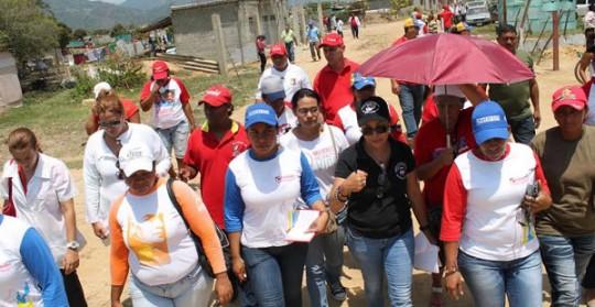 Gobierno Bolivariano se desplegó en sector Los Olivos de Morón
