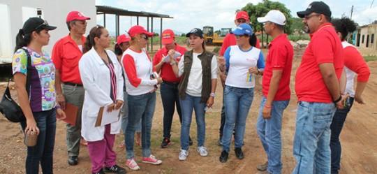 Base de Misiones Socialista Los Mangos presenta 60 por ciento de avance