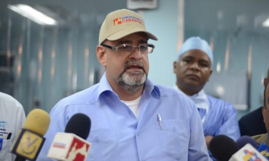 Gobierno de Ameliach rehabilitó en 100% emergencia de la CHET