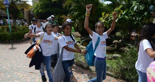 Más de 265 niños y niñas participan  en Plan Vacacional Gobernación 2014