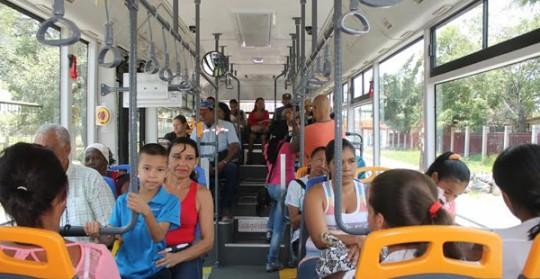 Usuarios de TransCarabobo aplauden calidad y seguridad del servicio público