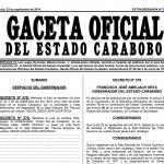 """Conferida """"Orden Sol de Carabobo""""  post-morten al magistrado Oscar León Uzcategui"""
