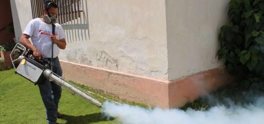 Gobernación desplegó fumigación en seis comunidades de Valencia