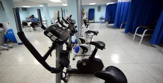 Ameliach inauguró en la CHET nuevo servicio  de Medicina Física y Rehabilitación