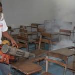 Gobernación desplegó fumigación en todas las facultades de la UC