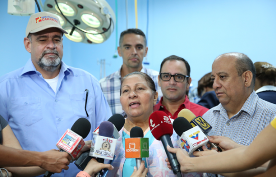 Gobierno Bolivariano está dando posibilidades reales  de vida a porteños y carabobeños