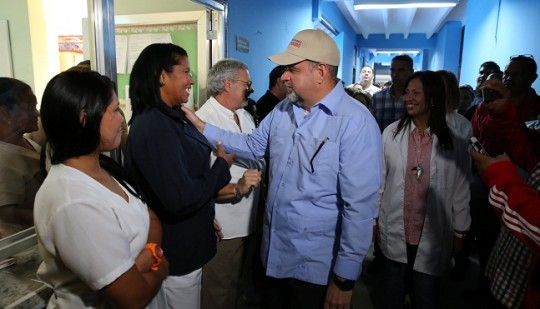 Inauguramos Unidad de Caumatología  y Servicio de Maternidad en Prince Lara