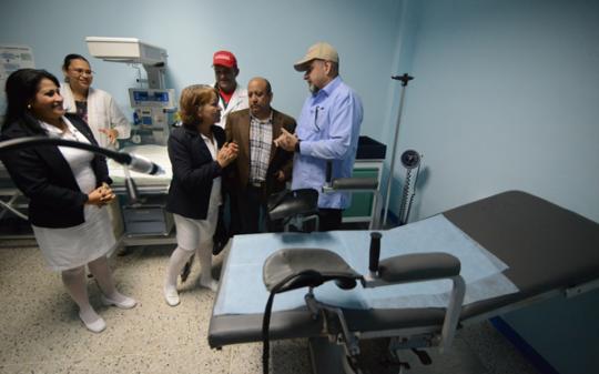 Inauguramos en Morón Servicio  de Hospitalización con Sala de Parto