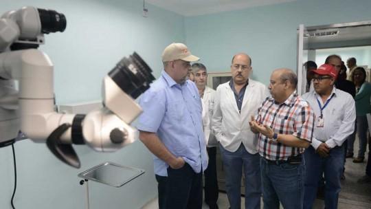 Gobernador Ameliach inauguró Servicio de Oftalmología en la Chet