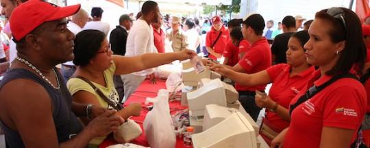 Gobierno Bolivariano expendió 27 toneladas  de alimentos en Base de Misiones La Mirandina