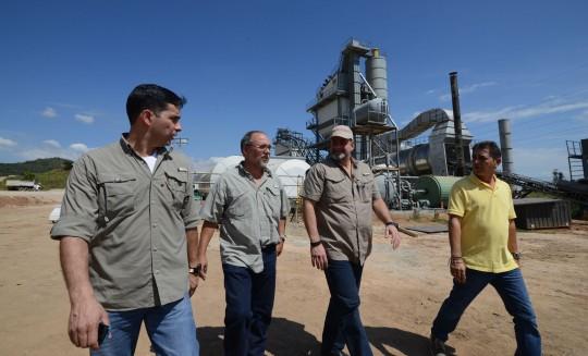 Planta de Asfalto Carabobo  registra 95 por ciento de avance