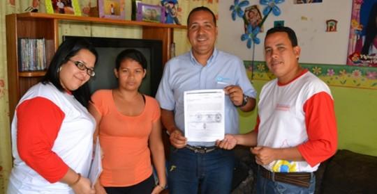Carabobeños agradecieron ayudas  sociales otorgadas por gobierno Bolivariano