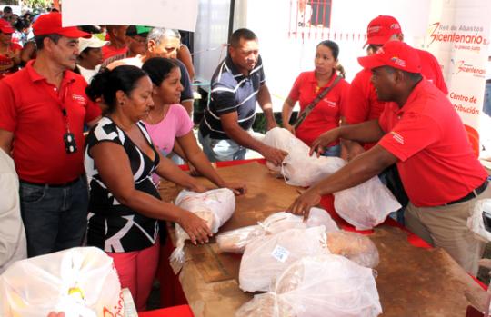 Vendidas más de 3 toneladas de pernil  a precio solidario en Lomas de Funval