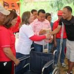 Gobierno de Carabobo entregó ayudas sociales en Base de Misiones