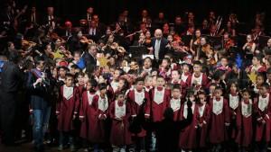 Maravilloso Concierto de Coros ofrecieron 200 niños de Bases de Misiones de Carabobo