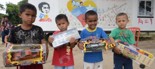 Gobierno Bolivariano entregó 17 mil juguetes En Bases de Misiones de Carabobo