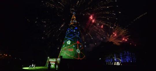 "Navidades Felices llegó al parque ""Negra Hipólita"""
