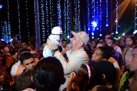 Gobierno de Carabobo hizo brillar Navidad en Parque Recreacional Sur