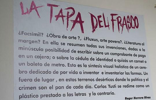 "Gobierno de Carabobo inauguró  exposición ""La Tapa del Frasco"""