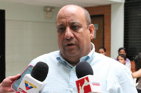 Raúl Falcón, presidente de Insalud