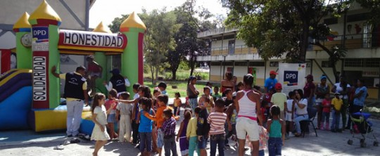 Con actividades recreativas se promueve convivencia solidaria con niños y niñas de Carabobo