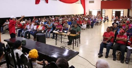 Adultos Mayores en Carabobo se organizan para Consejo Presidencial de Gobierno Popular