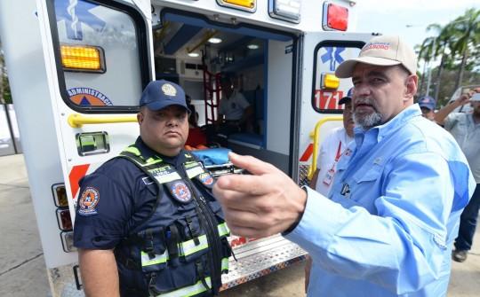 Activamos en Carabobo  el sistema de ambulancias más moderno del país