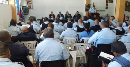 PoliCarabobo coordinó estrategias  de seguridad para el 2015