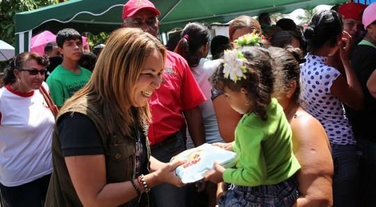 Familias de Base de Misiones 12 de marzo Favorecidas con Jornada de Alimentación