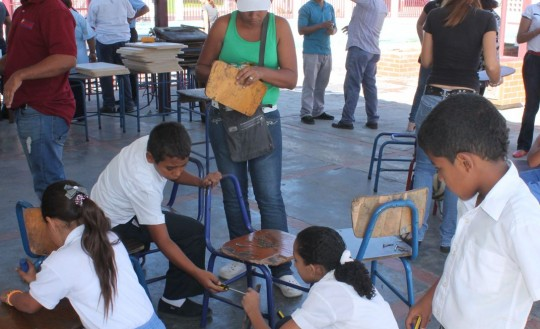 Gobierno de Carabobo inició programa  Pon Tu Mesa Silla En Marcha