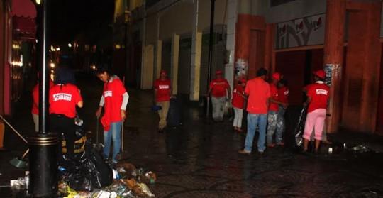 Gobernación activó en Valencia Operativo de limpieza de fin de año