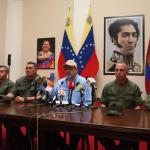 Gobierno de Carabobo y Alto Mando Militar  manifestaron apoyo irrestricto a Maduro