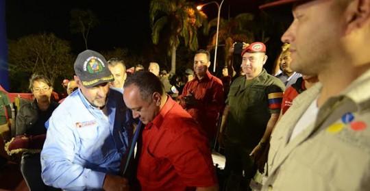 """Cabello: """"A la burguesía le molesta la unión entre pueblo y la FANB"""""""