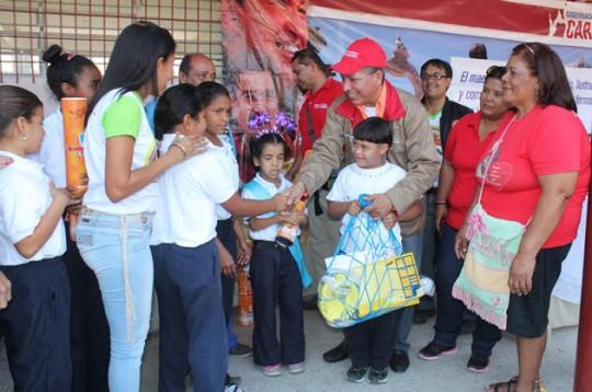 Gobierno de Carabobo realizó Jornada Integral para escuelas Estadales